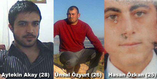 Burdur'da Feci Kaza: Ünsal Özkurt, Aytekin Akay ve Hasan Özkan Öldü