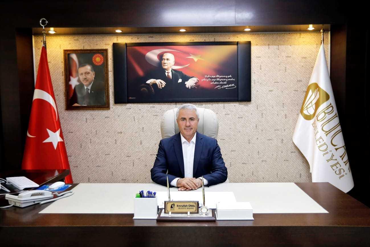 Başkan Ünal'dan belediye kiracılarına büyük destek