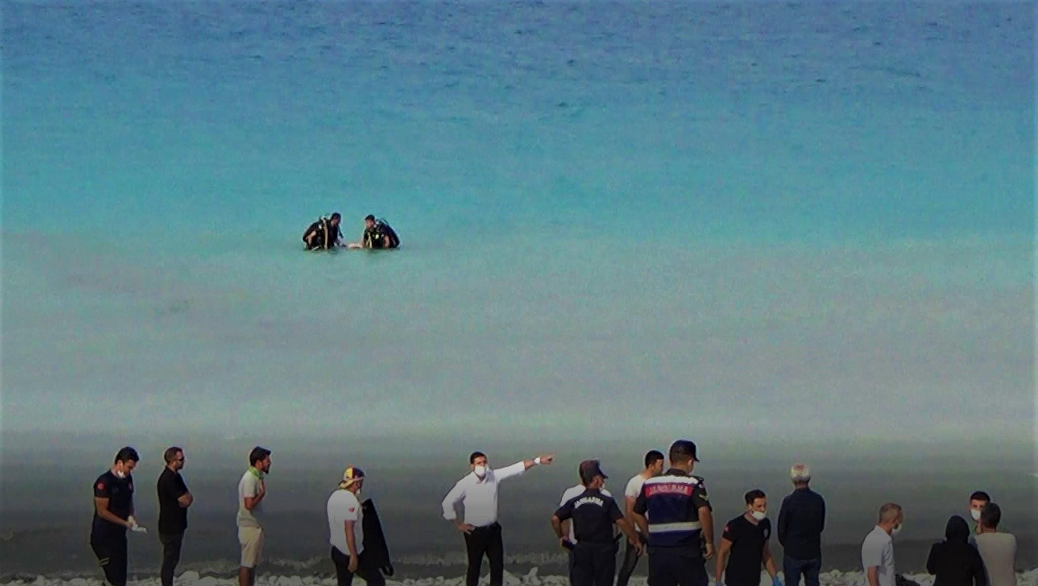 Salda Gölü'nde boğulma vakası