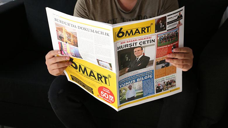 6 Mart Eğitim ve Kültür Gazetesi çıktı