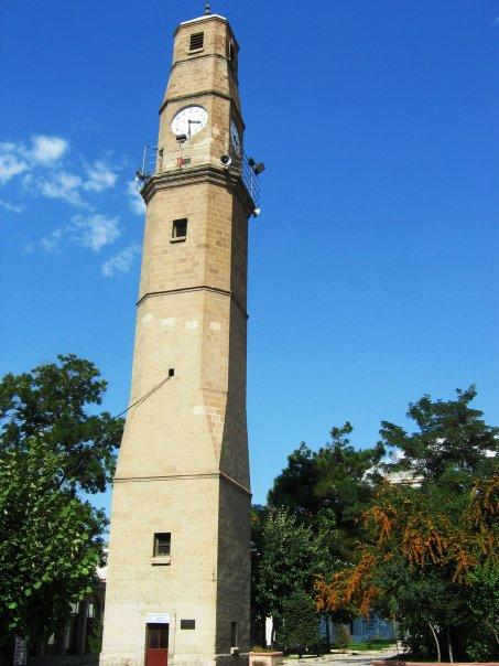 Burdur Saat Kulesi – Farklı Açı