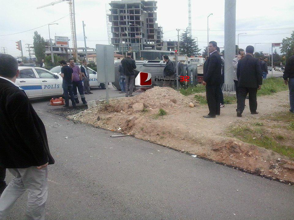 Migros Kavşağı'nda Kaza: 5 Yaralı