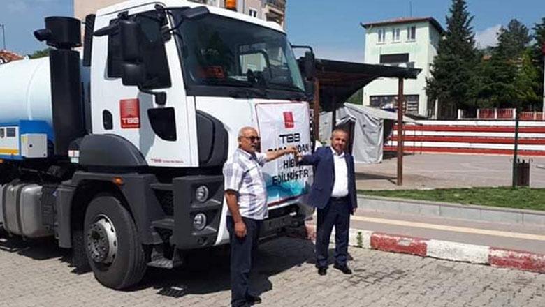 Ağlasun Belediyesi'nin vidanjör sorunu çözüldü
