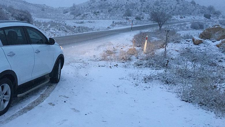 Burdur'da bir ilçede kar tatili