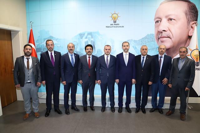 AK Parti Ağlasun ve Çeltikçi Başkanları atandı