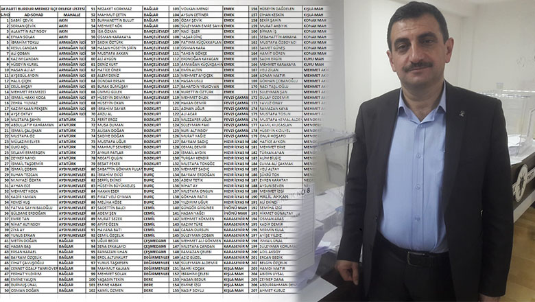 AK Parti Merkez İlçede Delegeler belli oldu