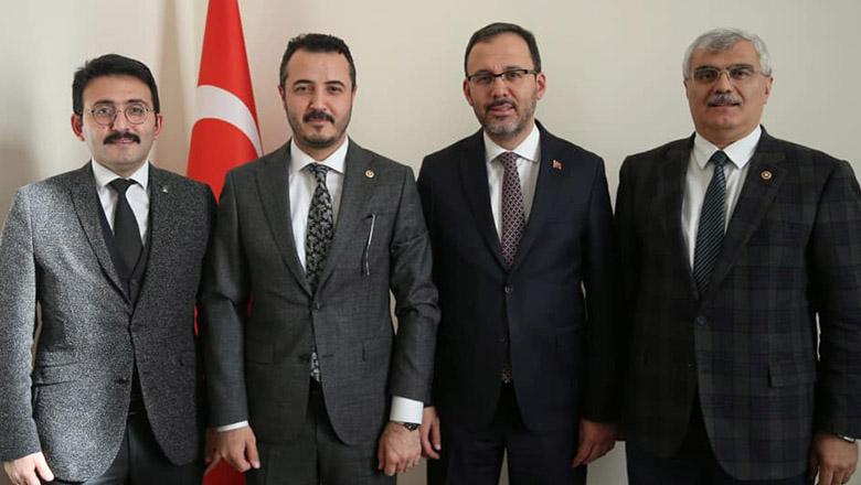 Ak Parti'den Bakan Kasapoğlu'na yatırım dosyası