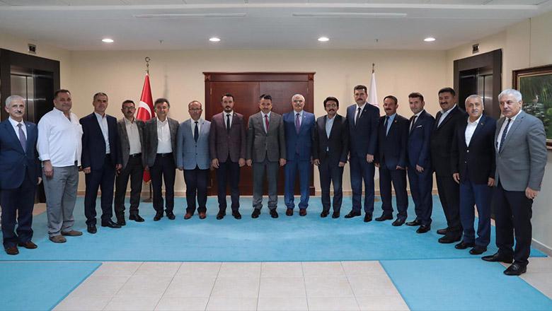 AK Parti Burdur heyetinden Bakanlara yatırım turu
