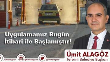 Burdur'da bir ilk Başkan Alagöz'den