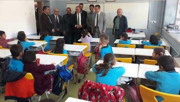 Başkan Alagöz'den okullara destek projesi
