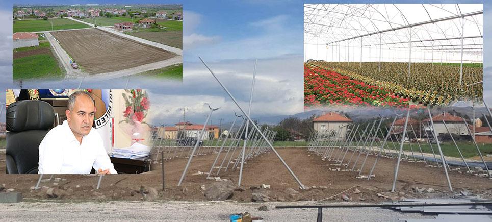 Başkan Alagöz'den Çiçek ve tohum serası müjdesi