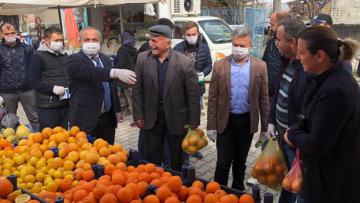 Başkan Ali Ulusoy tedbirleri artırdı