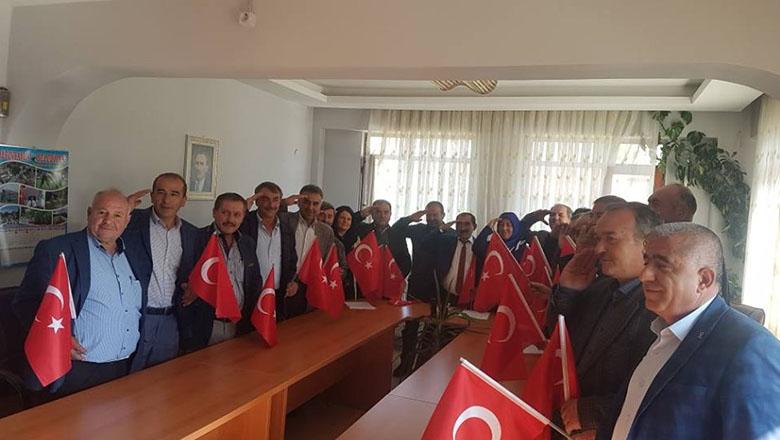 Altınyayla Belediyesi'nden Barış Pınarı Harekatına tam destek