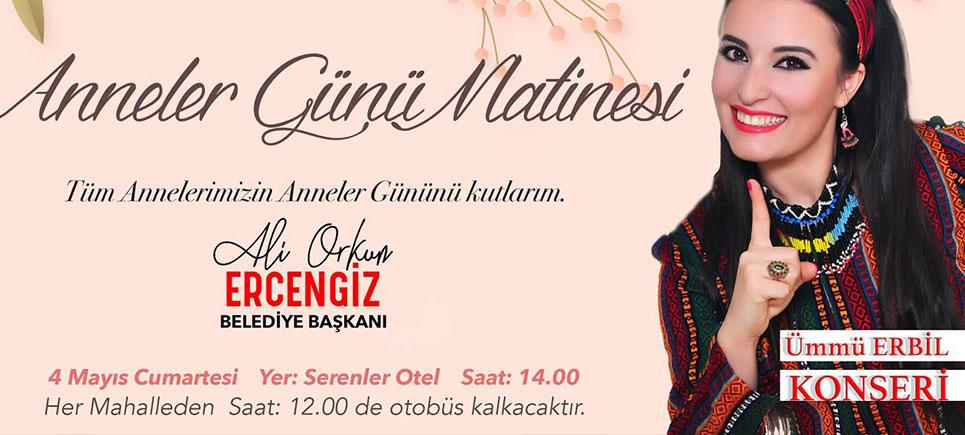 Başkan Ercengiz'den Anneler Günü Matinesi