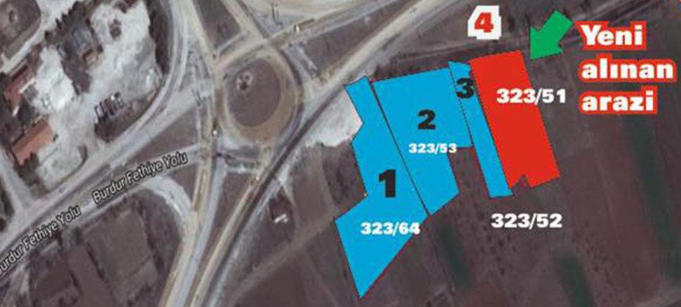 Karamanlı Belediyesi'nden arazi yatırımları