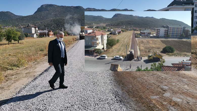 Başkan Ünal'dan asfalt açıklaması