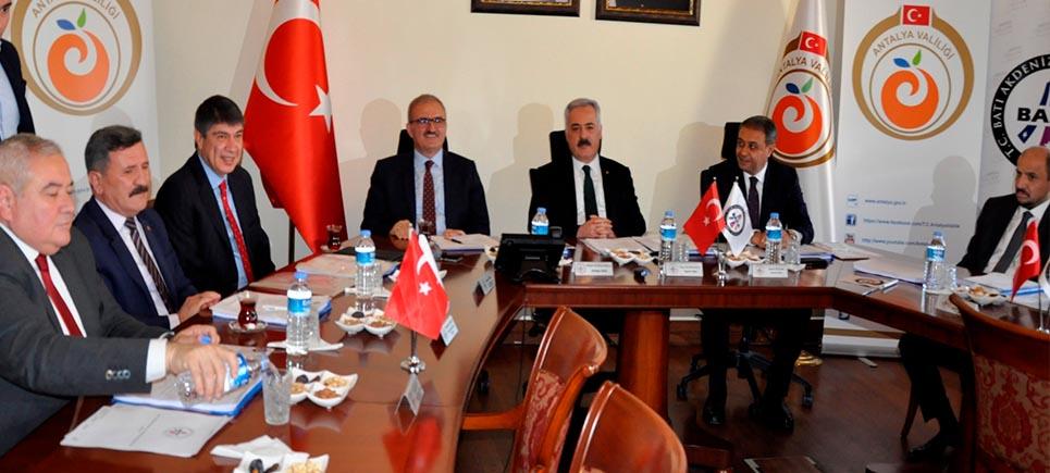 2018 yılının son toplantısı Antalya'da yapıldı