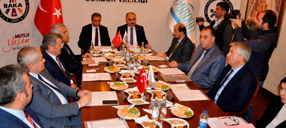 BAKA Yönetim Kurulu Burdur'da toplandı
