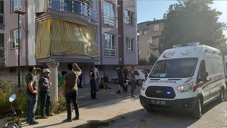 Bucak'ta bir işçi balkondan düştü