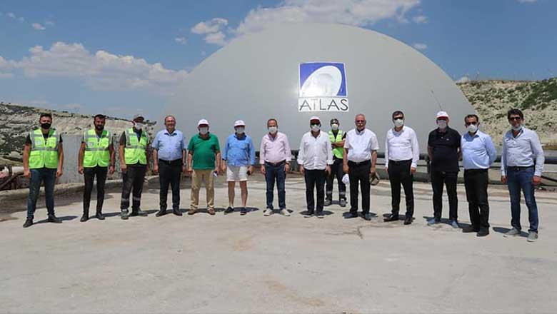 Başkan Ercengiz'den misafirlerine yatırım turu