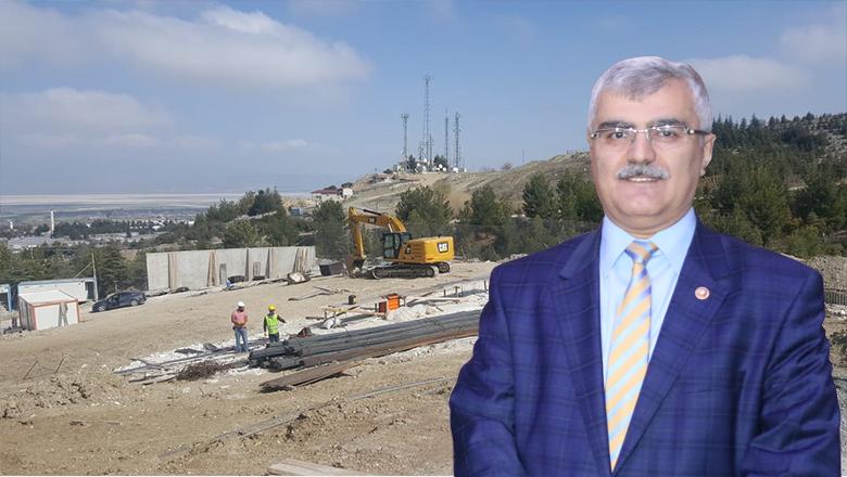 Milletvekili Özçelik'ten huzurevi inşaatı açıklaması