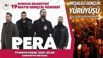 Burdur Belediyesi'nden 19 Mayıs Bayramı Konseri