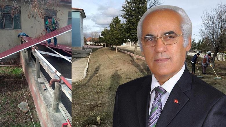 Yeşilova Belediyesi harıl harıl çalışıyor