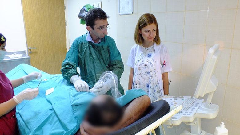 Devlet hastanesinde karaciğer biyopsisine başlandı