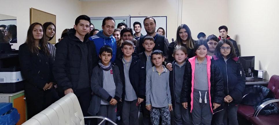 Bahçeşehir Koleji, engelli öğrencileri yalnız bırakmadı