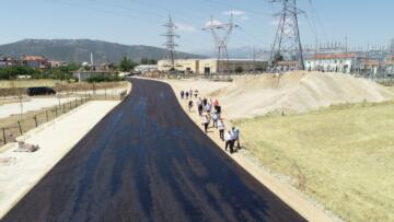 Bucak'ta 30 kilometre asfalt dökülecek