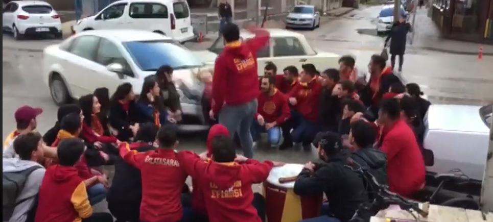 Burdur'da korkutan kaza