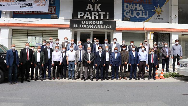 Cumhur ittifakı Burdur'da tek yürek