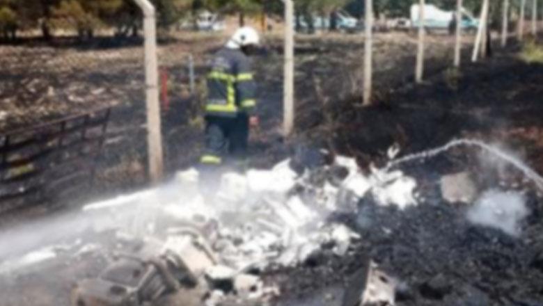 Burdur OSB'de korkutan yangın