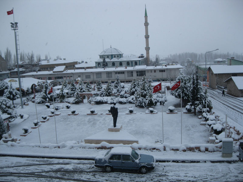 Burdur'da Eğitime Kar Tatili