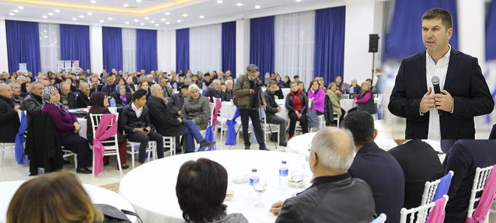 Başkan Ercengiz iki mahalle sakinleri ile buluştu