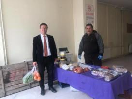 Başkan Selimoğlu'ndan ilk alışveriş