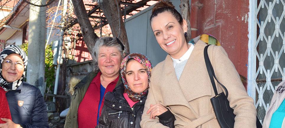 Deniz Kurt'un en büyük destekçisi eşi Fatma Kurt