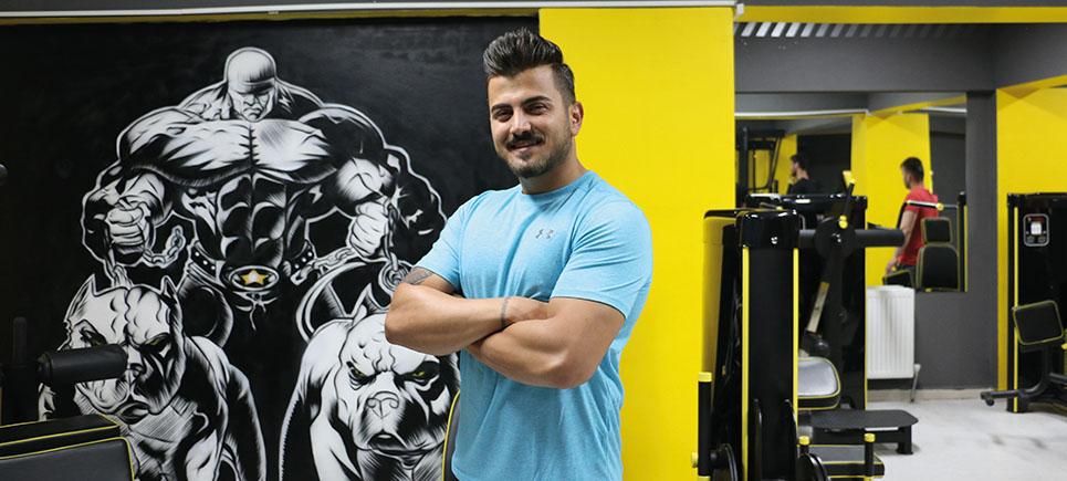 Burdur'da Fitness'ın yeni adresi Fitbucks