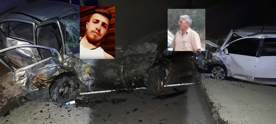 Gölhisar'da feci trafik kazası