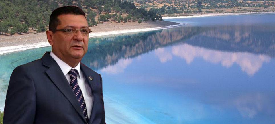 Milletvekili Göker'den Salda Gölü açıklaması