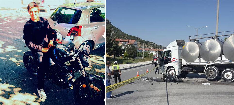 Burdur'da feci kaza: Genç Hasan Özeren hayatını kaybetti