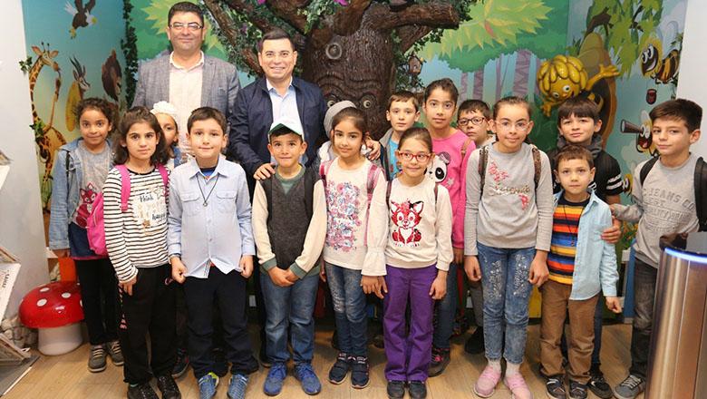Başkan İlkay Güngör'den çocuklara ara tatil hediyesi