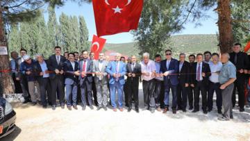 İlyas Köyü'nde Sosyal Tesis açılışı yapıldı