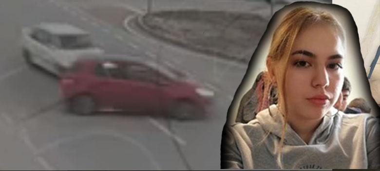 İremsu'nun hayatını kaybettiği kaza güvenlik kamerasında