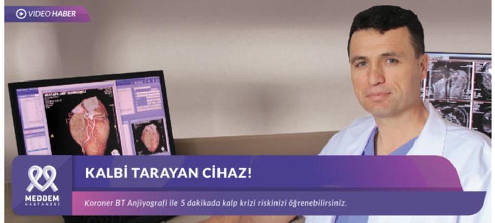 Meddem Hastanesi'nde Kalbi Tarayan Cihaz