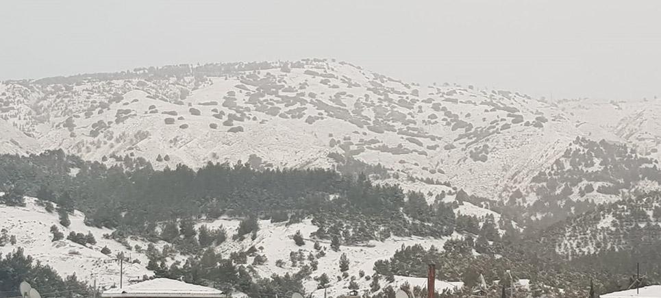 Burdur'da kar tatili