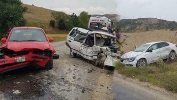 Burdur'da trafik kazası