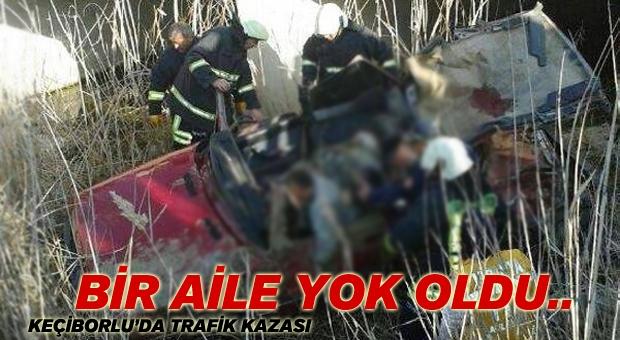 Kazada Çift Öldü, 3 Yaşındaki Kızları Ağır Yaralandı