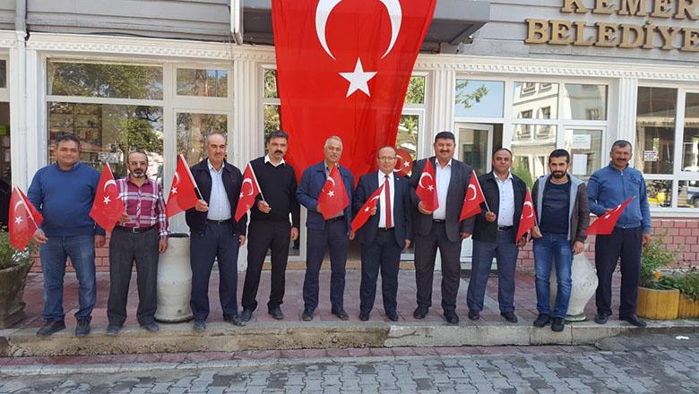Kemer Belediyesi'nden Barış Pınarı Harekatına tam destek