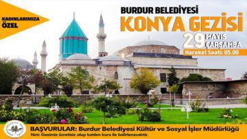 Burdur Belediyesi'nden 2. Konya Gezisi
